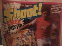 Collectable football old magazines