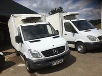 mercedes sprinter box fridge van.60 reg.MANUAL.1 OWNER FROM NEW