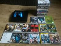 Ps3 with 15 games and a FREE bundle of dvds