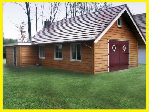 Overkapping Tuin Hout : ≥ douglas houten balken palen zweeds rabat overkapping hout