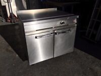 FALCON DOMMINATOR COMMERCIAL GAS DOUBLE OVEN