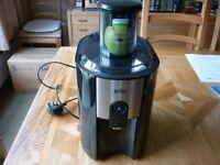 Braun J500 Spin Juicer, 1.25 litre, 900 Watt, Black