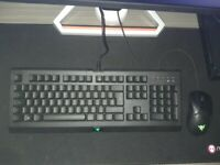 Razor power up keyboard and mouse