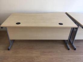 2 large office desks
