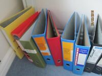 Job lot of Arch Lever Files and Lever Files plus numerous dividers