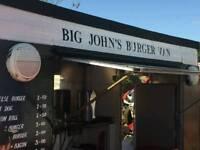 Looking for somone to work my burgervan