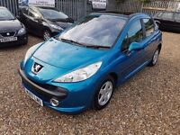 2007 Peugeot 207 1.4 16v Sport a very clean car