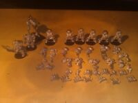 Warhammer 40K metal miniatures - Classic Chaos Terminators and others