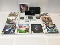 Nintendo 3ds with 9 games - Mint condition