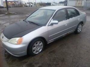 2002 Honda Civic just in for parts @ PICnSAVE Woodstock ws4541