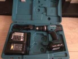 Makita 18v lithium-ion cordless Combi drill driver