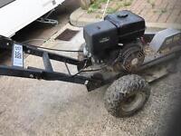 Stihl tools and stump grinding machine