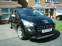 2010 PUEGEOT 3008 2LTR 150 BHP. In Excellent condition.