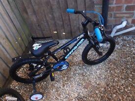 16 inch apollo bike like new would make a great present