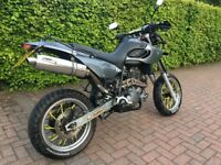 MZ Baghira Supermoto Yamaha XTZ660 engine