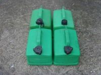4x Petrol 5L Jerry Cans FREE DELIVERY