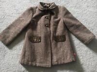 Billie Blush Girls coat Age 3