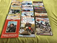 Collection of 21 motorcycle magazines