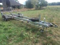 Large Trailer 7.5m with Hydraulics
