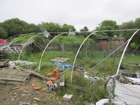 9m x 4m Commercial poly tunnel