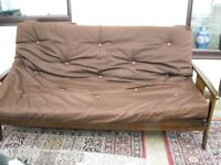 Two Futons sofa Beds One single childs and One for two adults taken down ready to move