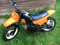 Yamaha PW50 kids motocross bike