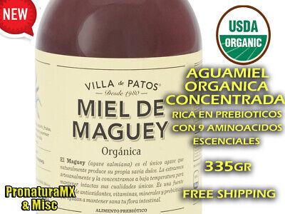 MIEL DE MAGUEY - MAGUEY HONEY ORGANIC (AGUAMIEL DE MAGUEY) 335gr FREE SHIPPING