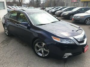 2009 Acura TL w/Nav Pkg/AWD/BACKUPCAMERA/LEATHER/ROOF/ALLOYS