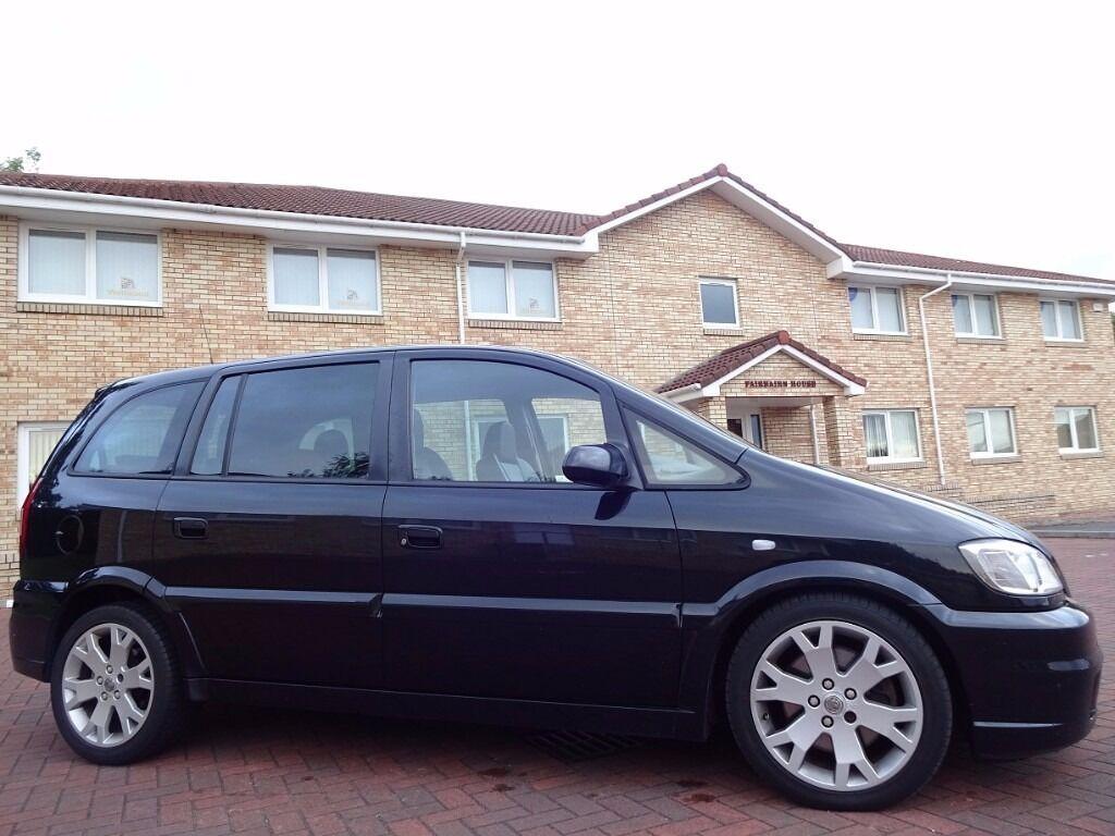 (2005) VAUXHALL Zafira GSi Turbo MPV 7 Seater