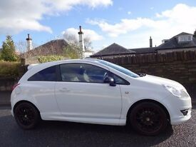 SPRING/SUMMER SALE!! (2010) VAUXHALL Corsa 1.2 LIMITED EDITION 3dr White/Black Edition