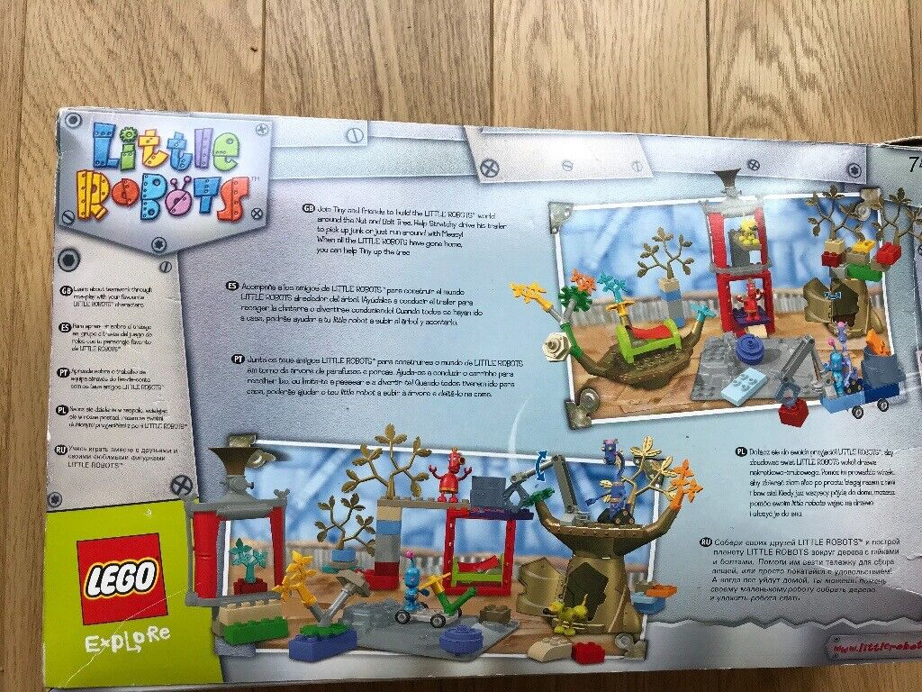 Little Robots Duplo Lego In Excellent Conditioncomplete In