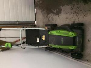 Moving sale cheap lawnmower electrical