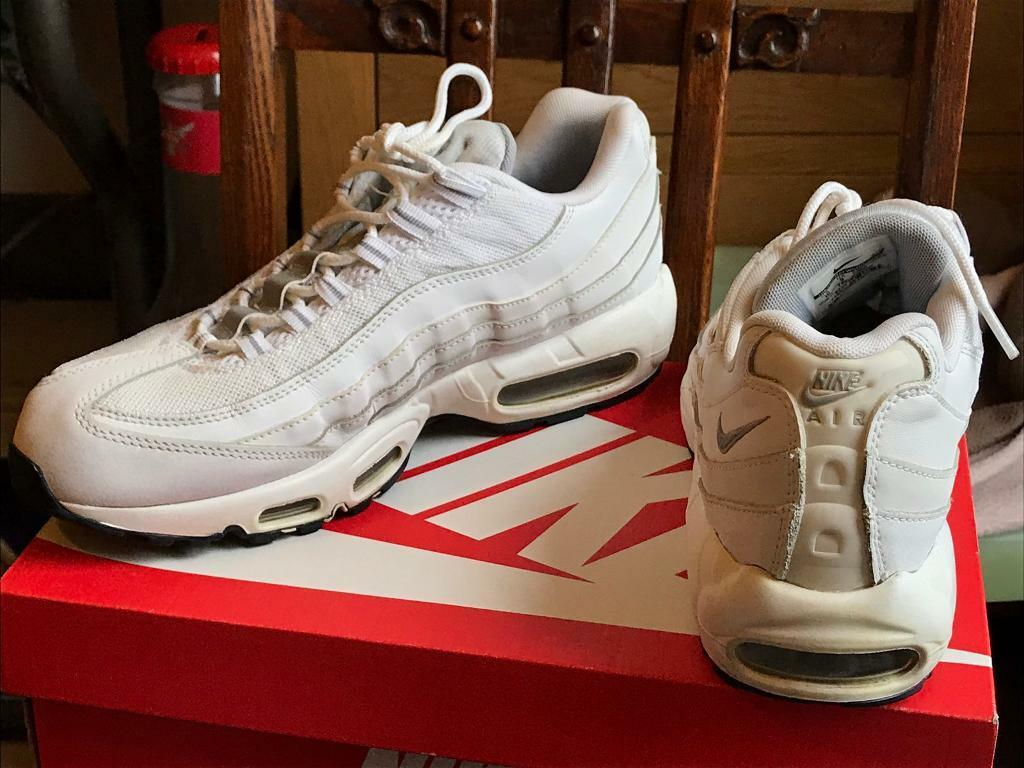 a2eedbc940 White Nike Air Max 95 Size 9   in Wolverhampton, West Midlands ...
