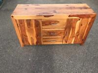 Solid wood sideboard possible delivery