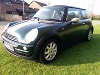 2003 Mini 1.6 in fantastic condition inside and out, low mileage, Mot to August, PX to clear