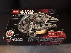 Lego Millennium Falcon UCS set 10179 with Box and Instructions