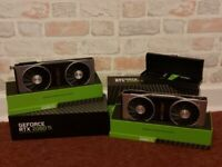 Two Nvidia GTX 2080Ti Founders Edition