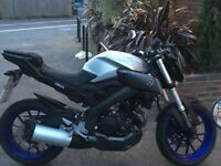 Yamaha MT 125 ABS Great looking bike