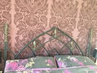 Cast Iron Headboard for Kingsize bed