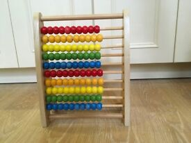 Wooden Abacus made by Hape (Swiss company)