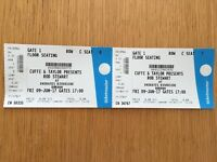 2 x Rod Stewart Tickets @ Emirates Riverside Durham Fri 9th June