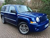 59 JEEP PATRIOT 2.0 CRD LIMITED STATION WAGON 4x4**FULL LEATHER**HEATED SEATS**SERVICE HISTORY