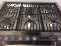 Range gas cooker and electric ovens 90cm Electrolux