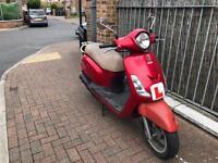Sym fiddle 125cc moped scooter Vespa Honda Piaggio Yamaha gilera peugeot