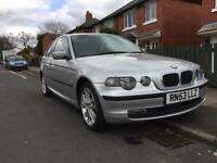 2003 BMW 320 TD SE Compact - Turbo Diesel - FSH - Bargain