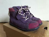 UGG Australia Kids Toddler's Lil Bear Purple Boots UK11 Kids