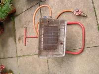Propane radiant gas heater