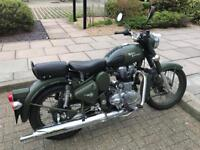 Royal Enfield 500 efi Green 2015