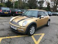 Mini ONE. MOT TAX LOW MILES WARRANTY ALLOYS