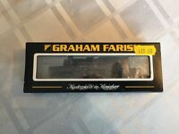 Graham Farish 372-530 4MT Tank 80048 BR Lined Black Early Emblem Weathered (N-Gauge)